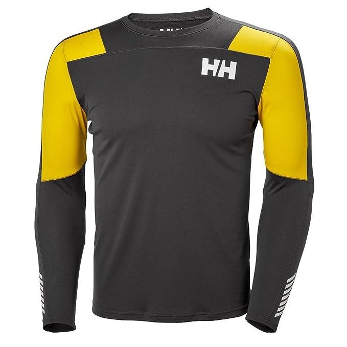 Helly Hansen HH LIFA Active Light LS, Camiseta para Hombre, (Gris 980), Small (Tamaño del Fabricante:S): Amazon.es: Ropa y accesorios