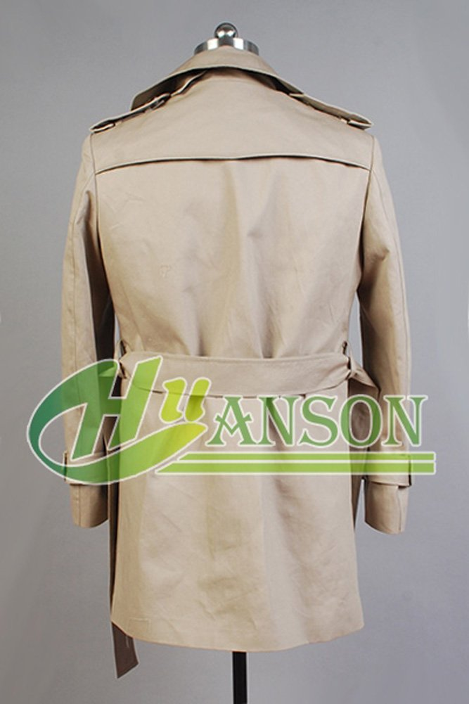 CosplaySky Constantine John Constantine Cotton Twill Trench Coat Costume by Cosplaysky (Image #2)