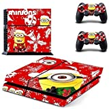 GOOOD PS4 Designer Skin Decal for PlayStation 4 Console System and PS4 Wireless Dualshock Controller - Merry Christmas - Beedo