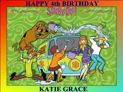 SCOOBY DOO PERSONALIZED 10 x 7.5