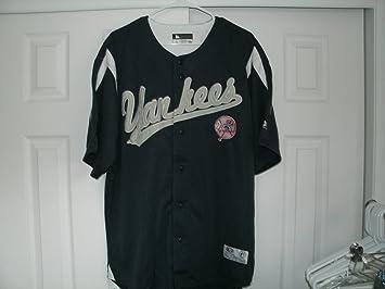 MLB New York Yankees de béisbol para hombre Jersey bordado letras: Amazon.es: Deportes y aire libre