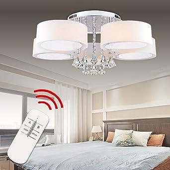 Hengda® LED Deckenlampe Kristall Deckenleuchte Lampe Leuchte ...