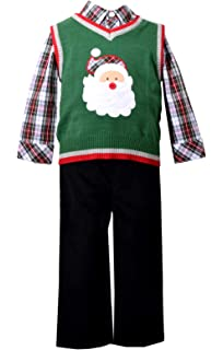 Bonnie Baby Matt/' Scooter Christmas Holiday Boys Snowman Outfit Set 2T 3T 4T