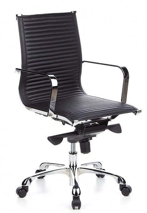Bürostuhl Schwarz Chefsessel Drehstuhl Büro Stuhl Schreibtischstuhl Design