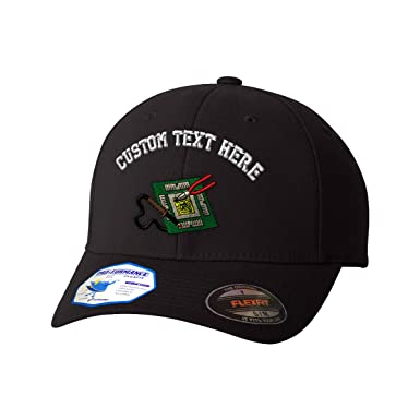 Custom Text Embroidered Electronic Repair Flexfit Hat