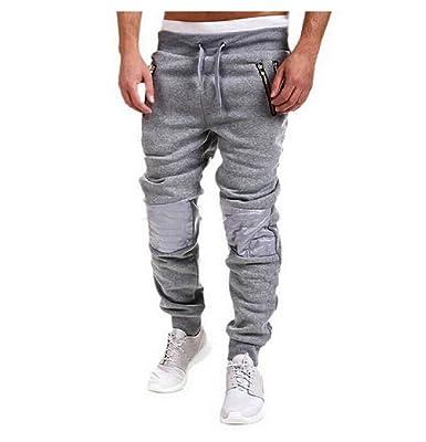 BOMOVO - Casual Harem Holgado Hip Hop Danza Pantalones De Chandal ...