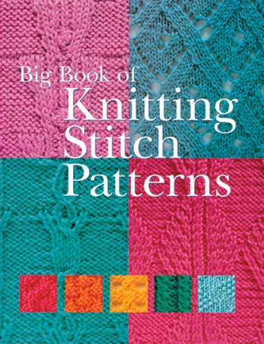 Big Book Knitting Stitch Patterns Amazon Inc Sterling