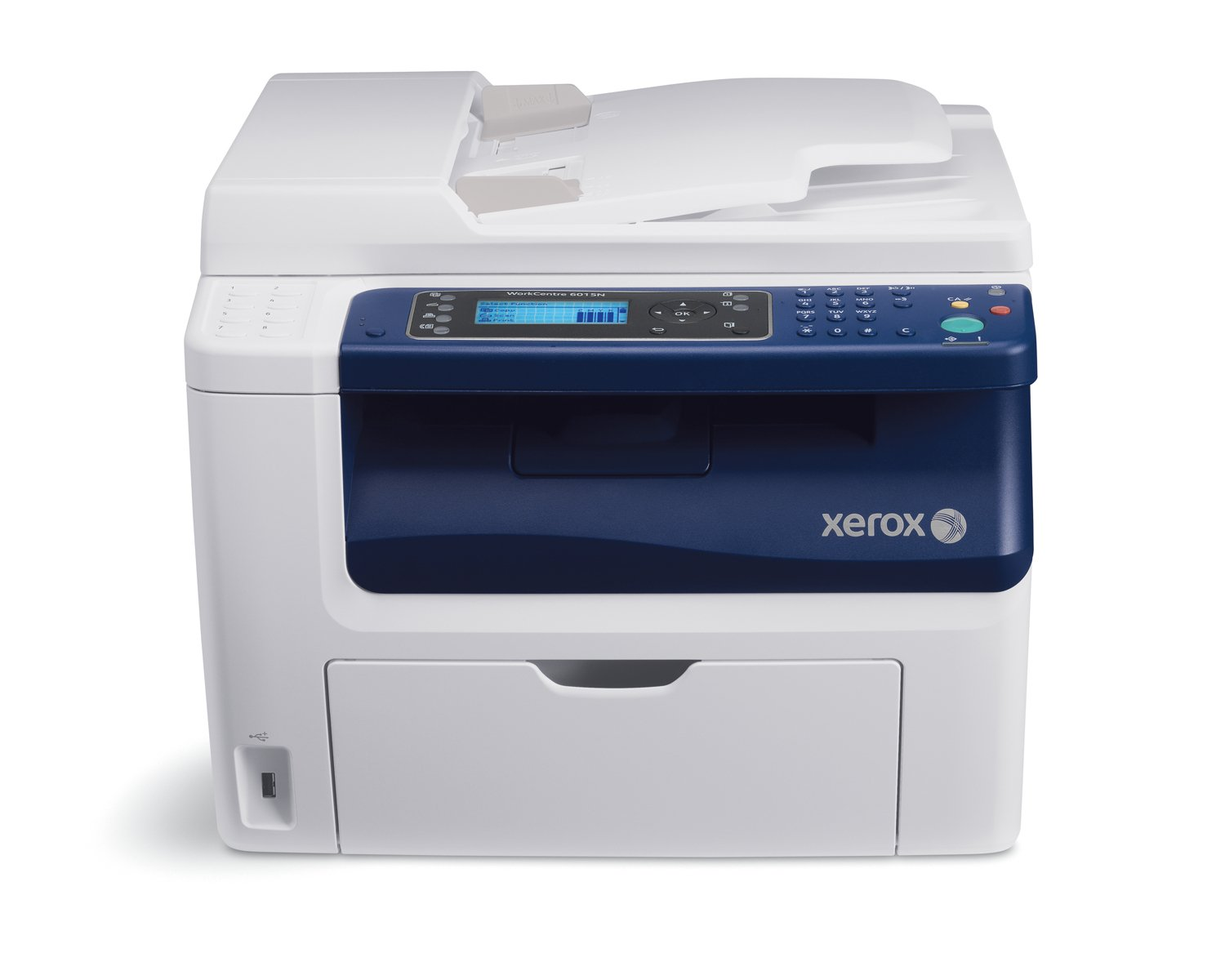 Amazon.com: Workcentre 6015/NI Color Multi-function Printer,  Print/copy/scan/fax, Up To 12/1 - Discontinued by manufacturer: Electronics