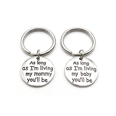 Amazon com: Mother Daughter Gift Key chain Set Mother