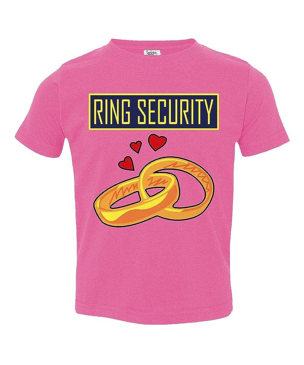 Societee Ring Security Little Kids Girls Boys Toddler T-Shirt Ring Bearer