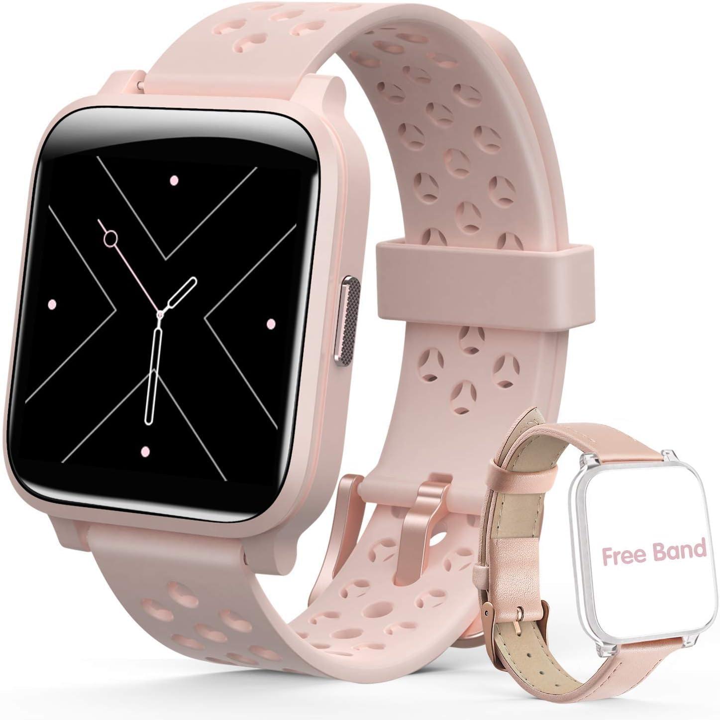 Smartwatch Reloj Inteligente Mujer, Hommie Pulsera Actividad ...
