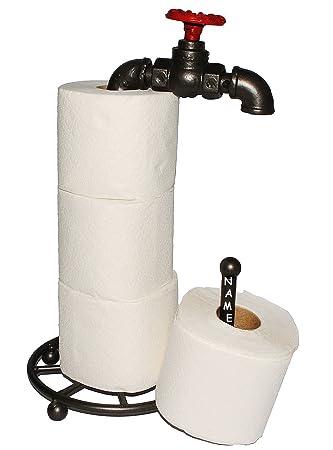 Unbekannt Wasserhahn Toilettenpapierhalter Incl Namen