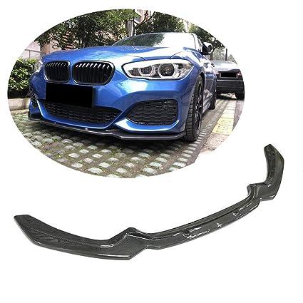 MCARCAR KIT F20 Front Spoiler, Pure Carbon Fiber Front Bumper Lip fits BMW 1 Series