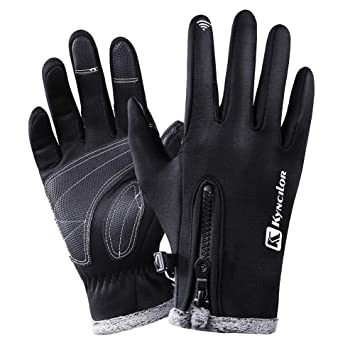 Windproof Warm Touchscreen Outdoor Gloves  Full  Finger Cycling Gloves FI