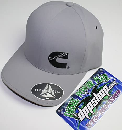 Amazon.com   Cummins delta flexfit hat ball cap trucker cummings ... 81e9392ca767
