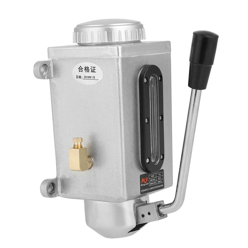 Lubrificazione manuale della pompa dell'olio per lubrificazione manuale 500CC CNC 4mm Doppia uscita della presa per la punzonatrice di tornio Hilitand