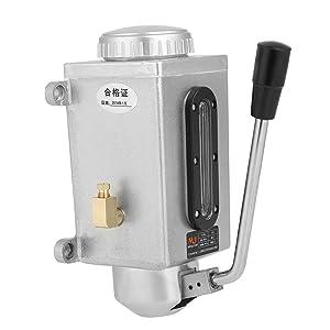 1 Unid Lubricador Manual Bomba de Aceite Sistemas de Lubricación de Metal de Aceite Salida Doble 500CC CNC 4mm para Máquina Punzonadora
