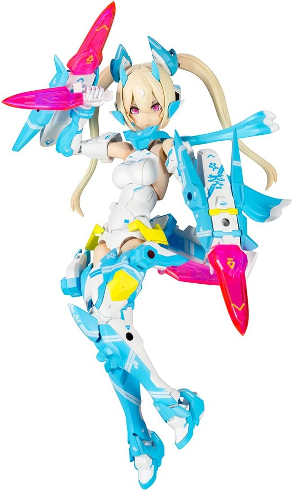 Megami device Zhu Luo Ninja blue cloth height approx 140 mm 1 / 1 scale model Kit