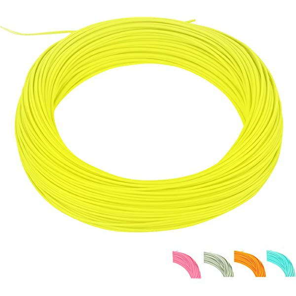 Aventik Fly Fishing Line DT 3F//4F//5F//6F Three Colors Fly Line with 2 Welded Loop