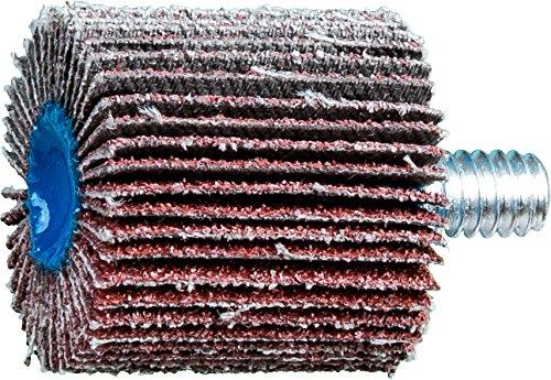 1 Diameter x 1 Length 1//4 Shank PFERD Inc. 1 Diameter x 1 Length PFERD 45310 Quick-Change Flap Wheel 25000 Max RPM 1//4-20 Thread Pack of 10 60 Grit 1//4 Shank Aluminum Oxide A