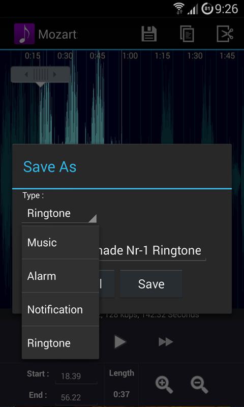 MP3 Ringtone Creator