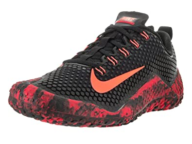 wholesale dealer 8ef38 c0ac8 NIKE Men s Free Trainer 1.0, Black Bright Mango- University Red, ...