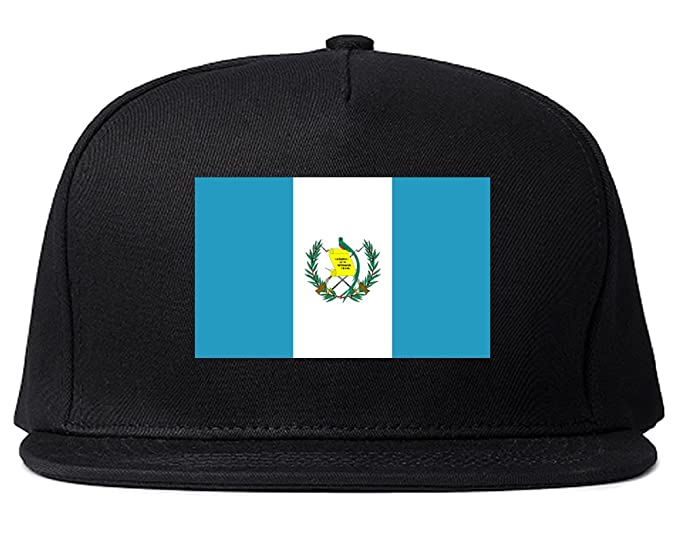Amazon.com: Guatemala Bandera país Reproducido Snapback ...