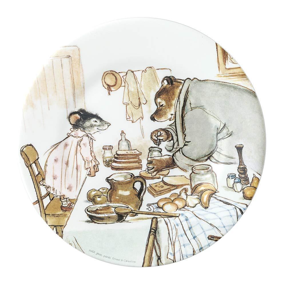 Ernest /& C/élestine Cooking Dessert Plate