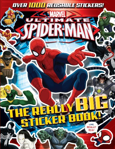 Ultimate Spider-Man: The Really Big Sticker Book! (Superhero Sticker Book)