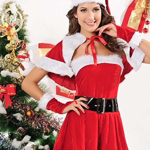 [YeeATZ Christmas Christmas Costumes Fitted pieces of sets] (Suede Renaissance Boot Costumes)