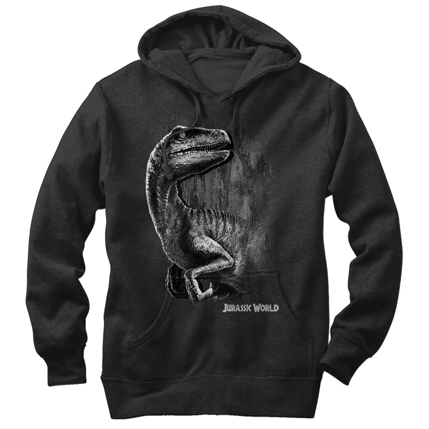 Fifth Sun Jurassic World Men\'s Sly Velociraptor Hoodie at Amazon ...