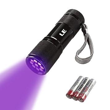 Noire LedDe Aaa Les Uv Pour Piles Poche Lampe Le Détecter Torche3 Fournies Des 395nm Torche Ultraviolet Taches Sur Led Lumière n08wOPkX