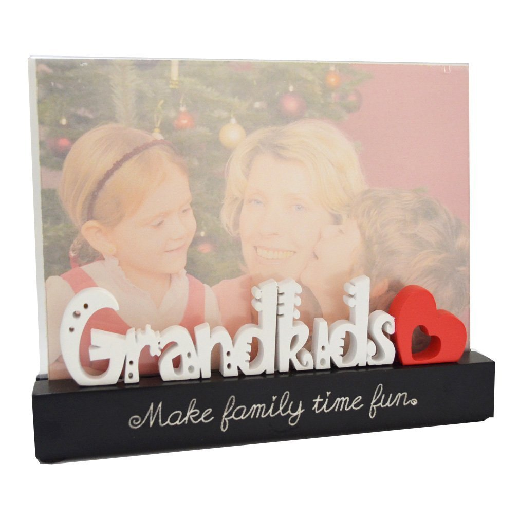 Giftgarden Fotorahmen Familie 13x18 Bilderrahmen mit Grandkids ...
