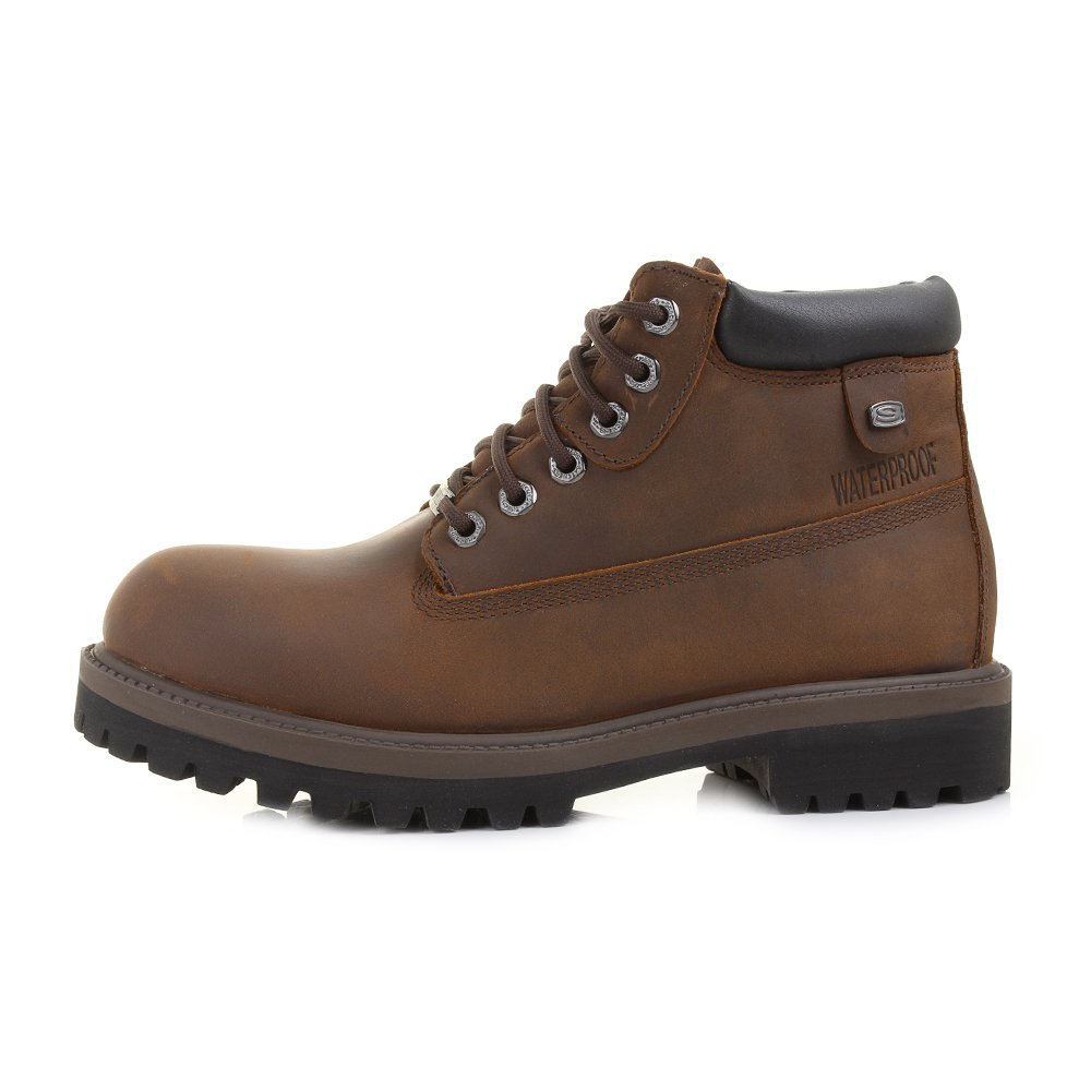 Skechers Sergeants Verdict Warm Lining Chelsea Boots for