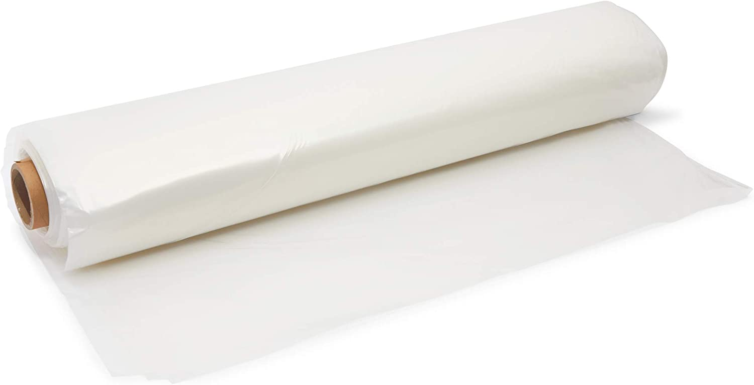 Okuna Outpost Greenhouse Plastic Film Roll for Farms, 6 Mil Sheeting (25 x 40 Ft)