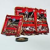 Cheap Korean Premium Red Ginseng HongSamin Candy (200gx3packs) 600g