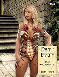 Exotic Beauty Adult Coloring Book (Volume 2)
