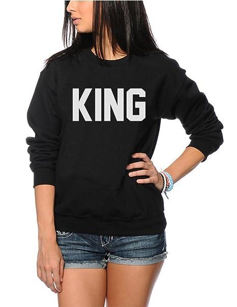 King - Fashion Hipster Tumblr - Sudadera para niños: Amazon.es: Ropa y accesorios