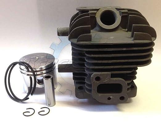 Juego completo de cilindro y pistón Kawasaki TH 24: Amazon.es: Jardín