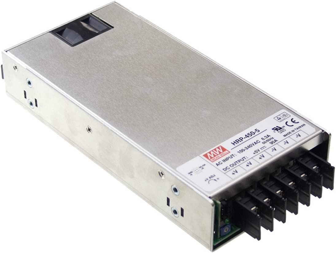 Mean Well HRP-450-7.5 7.5V 60A 450W Single Output with PFC Function Power Supply PowerNex