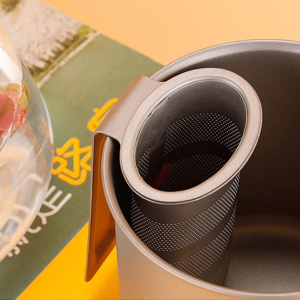 Lixada Titanium Mesh Tea Infuser Basket for Tea Cup