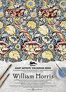 William Morris Giant Artists Colouring Book