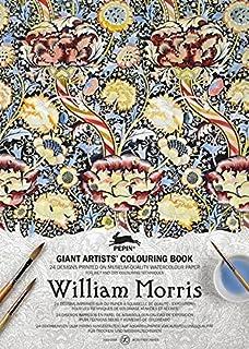 william morris giant artists colouring books