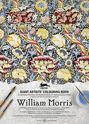 - William Morris (Giant Artists' Colouring Books) (English, Spanish, French, Italian and German Edition)