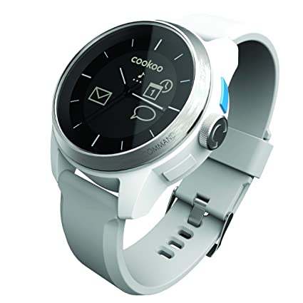 COOKOO Smart Bluetooth Connected Watch, White