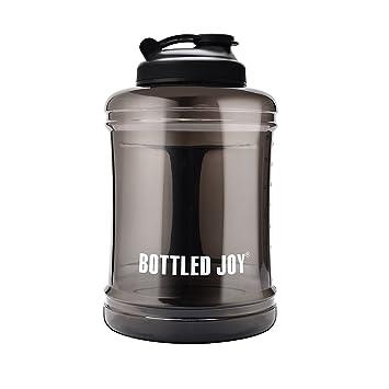 2.5L boca ancha plástico botella de agua, sin BPA – a prueba de fugas