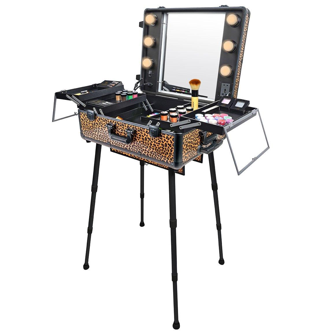 SHANY Studio To Go Makeup Case with Ligh…