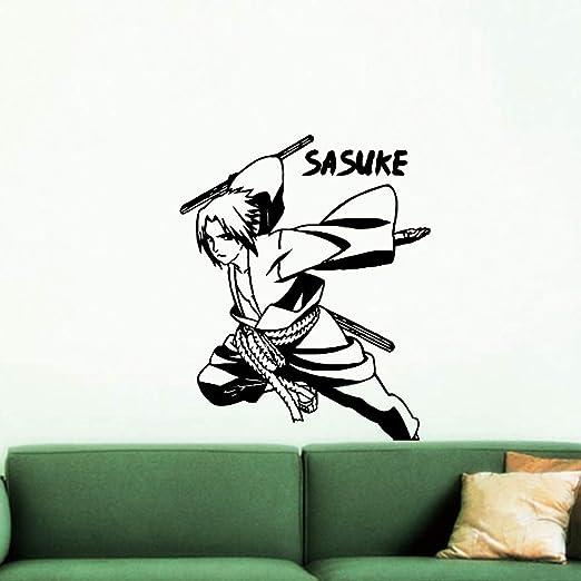 yaoxingfu Pegatinas de Pared Modernas de Sasuke Personalizadas ...