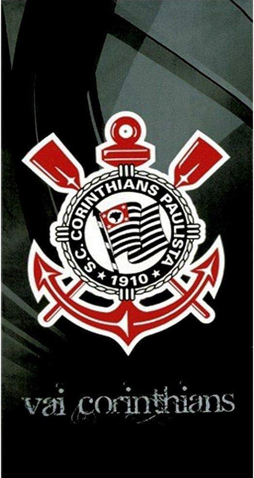 Authentic Corinthians Soccer Team Beach Towel Type II Toalha de Praia Oficial do Corinthians Modelo 02