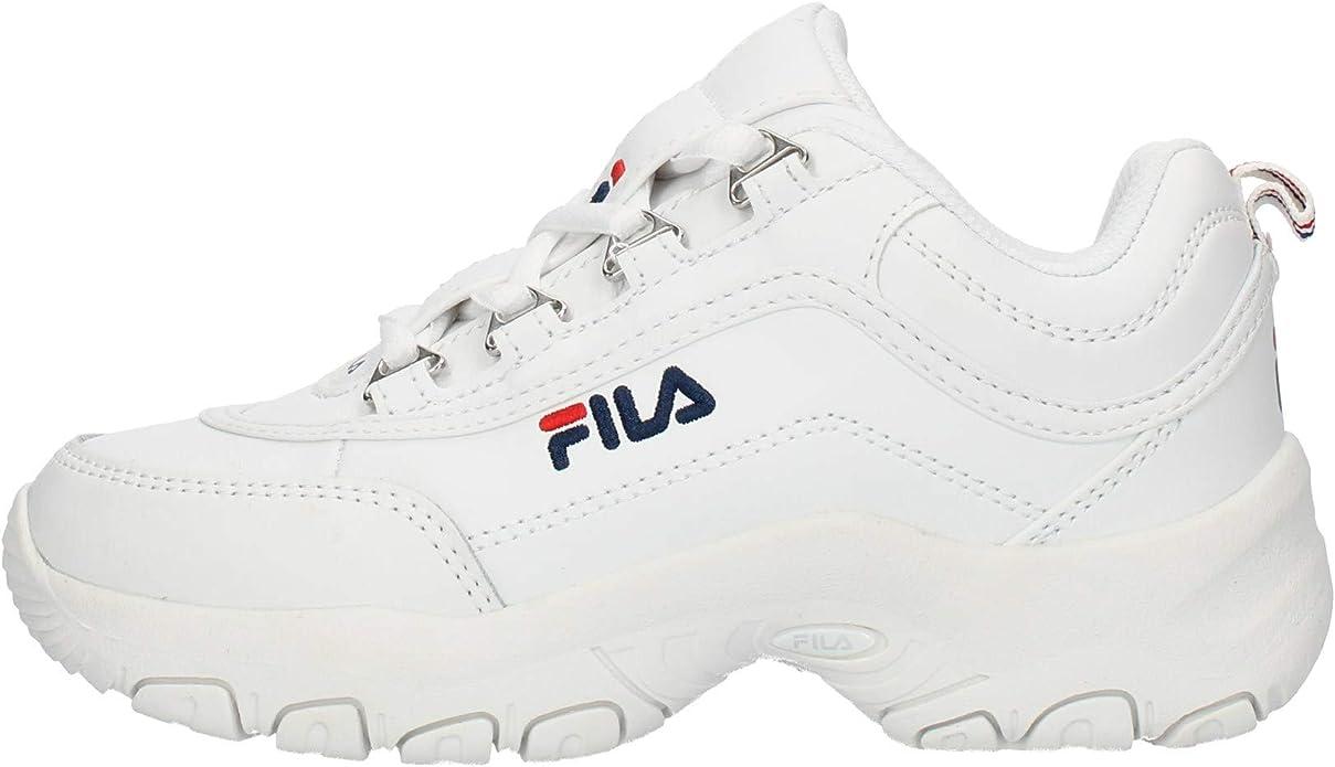 Fila Sportive Cód.10107823VW Strada M Low Kids Col.Silver Rosa Size: 29 EU: Amazon.es: Zapatos y complementos